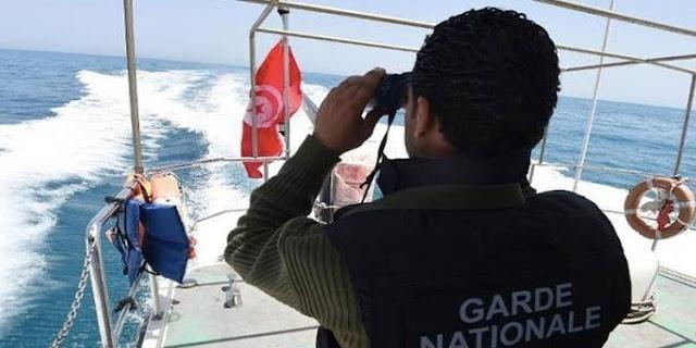 المهدية : إحباط عملية إجتياز للحدود البحرية خلسة