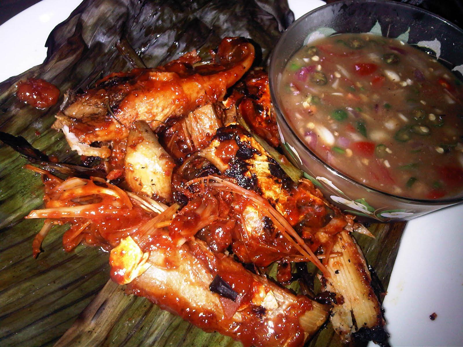 periuk kuali senduk  action ikan bakar bersambal ala bazar ramadhan p Resepi Ikan Pari Bakar Melaka Enak dan Mudah