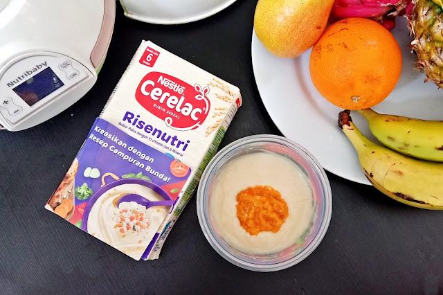 MPASI Homemade dengan CERELAC Risenutri