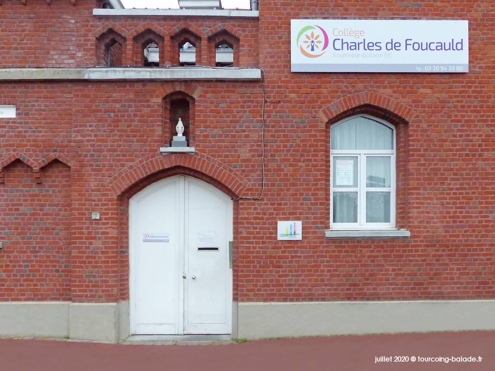 Niche Murale Tourcoing - Collège Foucauld 2020