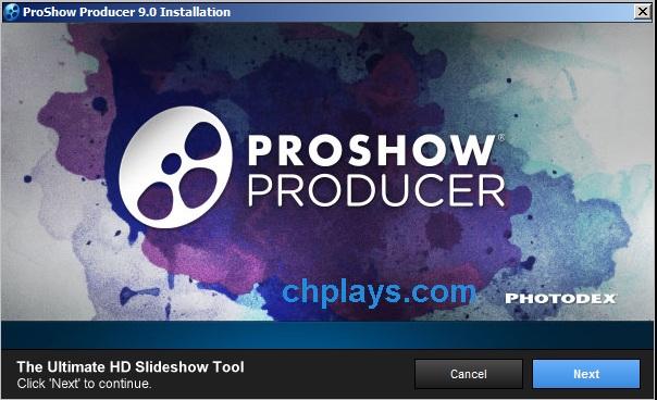 Hướng dẫn cài đặt phần mềm Proshow Producer 9.0.3797 a