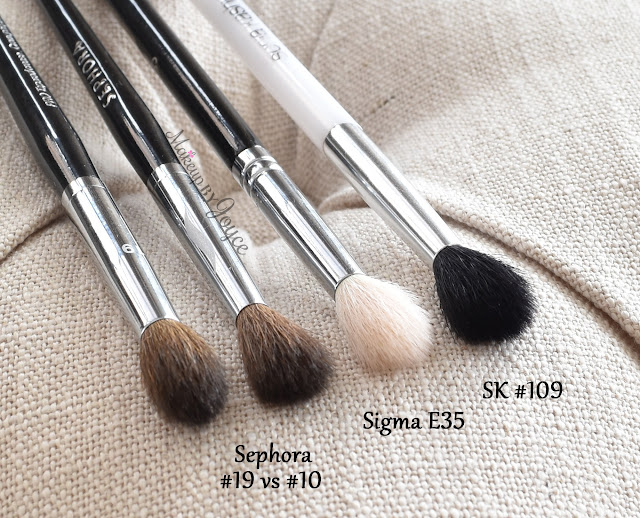 Sephora Crease Brush #10 Sigma E35 Dupe Review