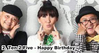 Ten 2 Five - Happy Birthday