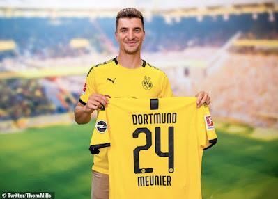 CHÍNH THỨC: Dortmund giành được Thomas Meunier 2
