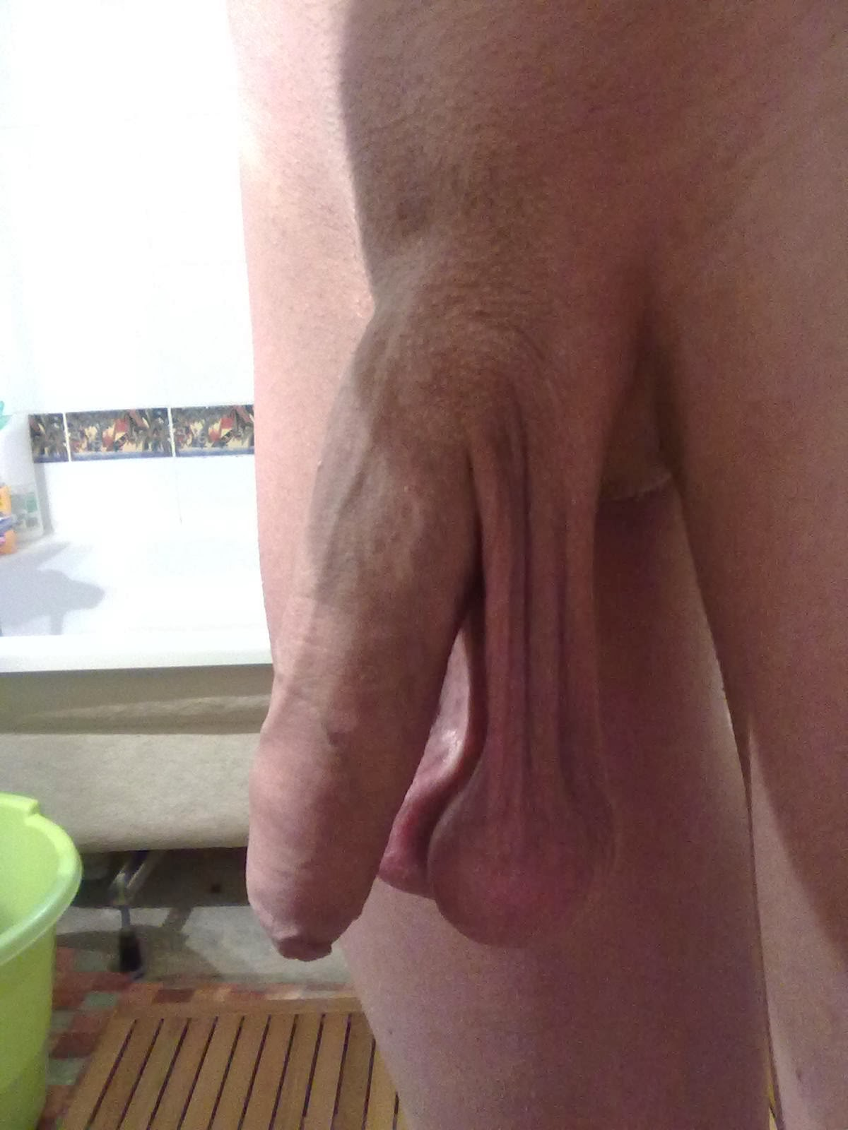 Ball cock hanging low