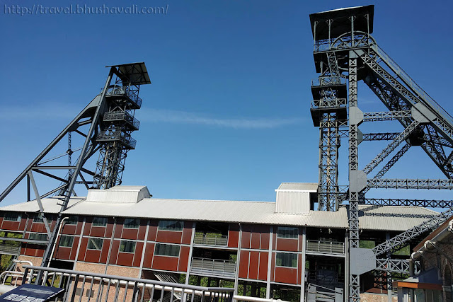 UNESCO World Heritage Sites Belgium Bois du Cazier Coal Mine