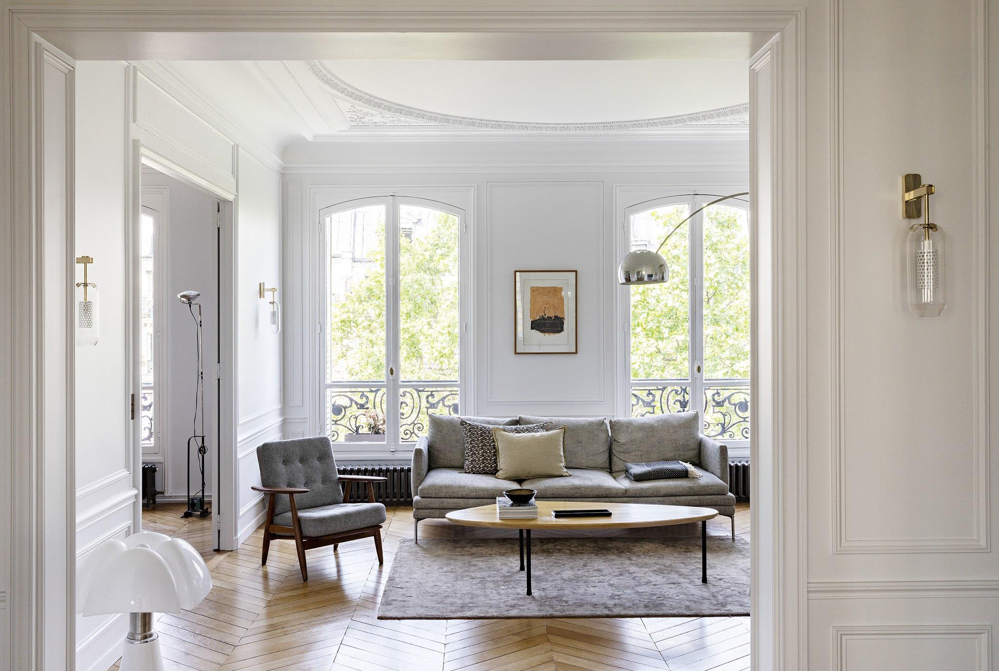 Exquisite Parisian apartment by interior designer Olivia Massimi