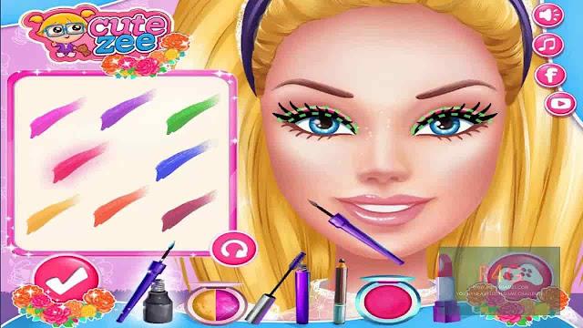 تحميل العاب مكياج و تلبيس و قص شعر البنات للكمبيوتر و الموبايل الاندرويد برابط مباشر Download makeup games
