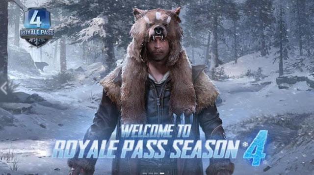 pemain akan kembali memulai karirnya dari awal Tutorial games: PUBG Mobile Season 4 Sudah Datang