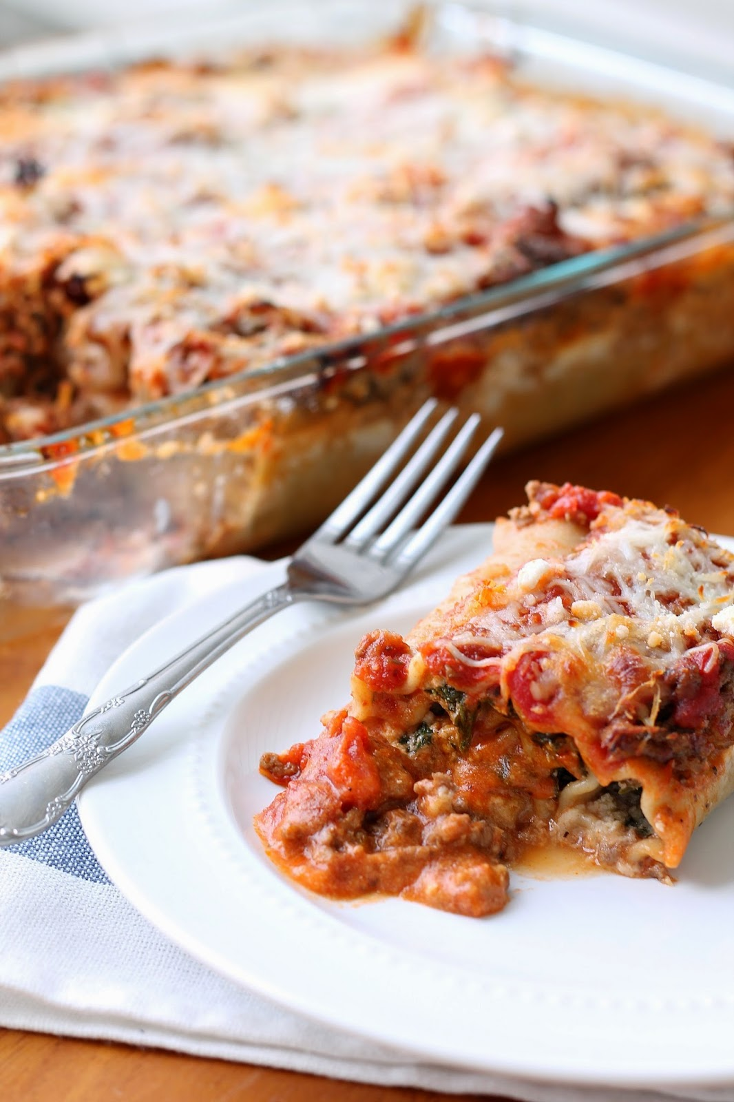 My Grandmother's Recipes - Lasagna Rolls via @labride