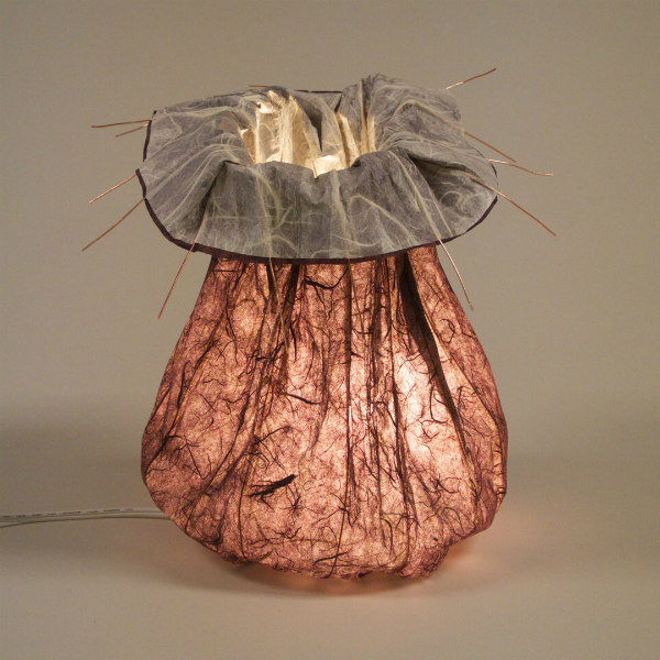 bendable handmade paper lamp