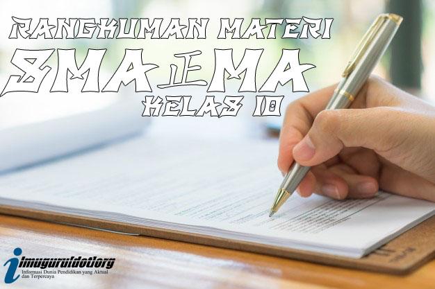 Materi Bahasa Inggris Kelas 10