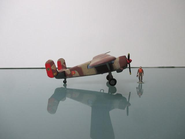 1/144 Max Holste Broussard diecast metal aircraft miniature
