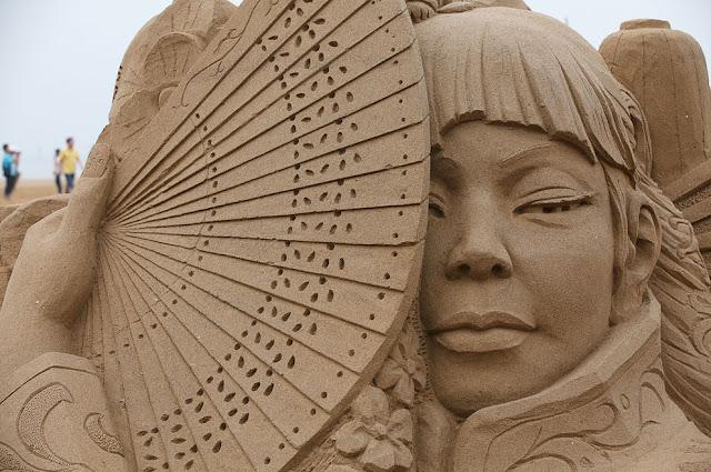 Japanese Sand Sculpture Festival 2011