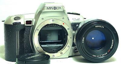 Minolta Alpha Sweet (Silver) Body #808, Maxxum AF 50mm 1:1.7 #392