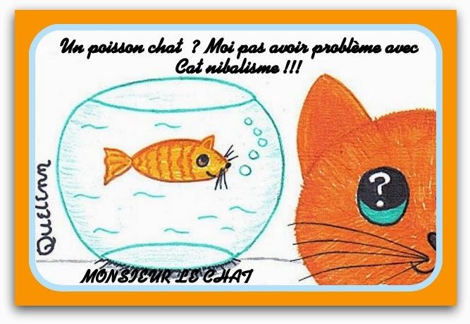 Monsieur le chat et moi avril 2015 for Donner poisson