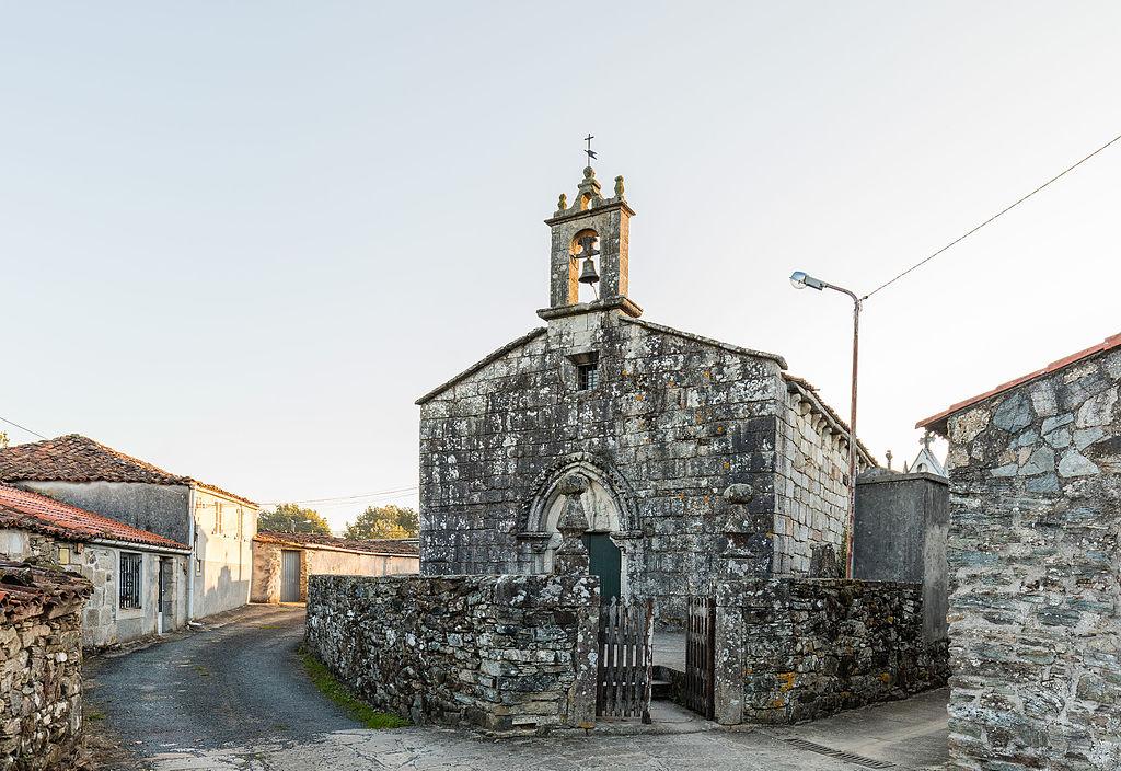 Iglesía de Santa María (Church of Saint Mary) in Leboeiro. Photo: © Diego Delso via Wikimedia Commons.