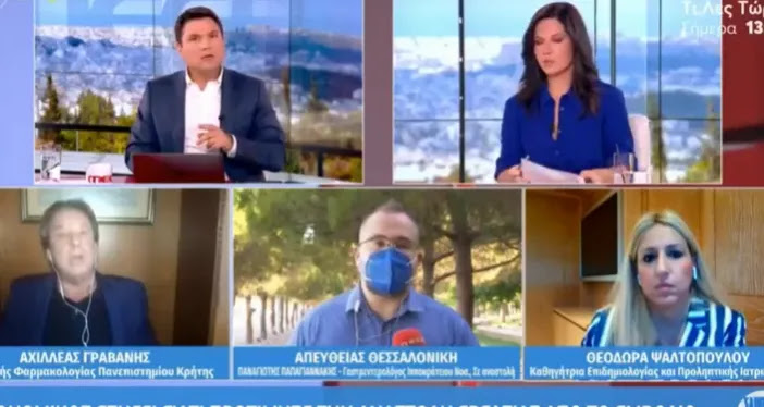 Γιατρός στον «αέρα»: «Στην Ελλάδα δηλώνεται το 0,05% των παρενεργειών από τα εμβόλια» – ΒΙΝΤΕΟ
