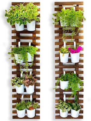 wall garden, vertical garden planter, vertical planter, herb garden, herb planters