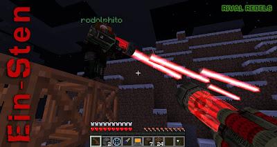 Ein-Sten Laser Weapon Minecraft Mod