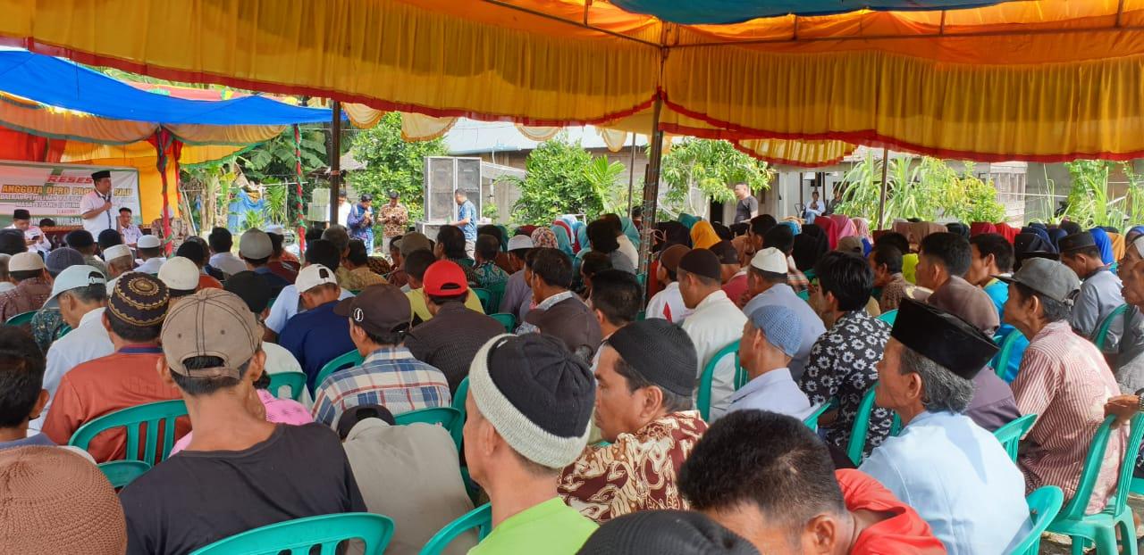 Desa Gemilang Jaya, Titik Ke-15 Reses Dani Nursalam