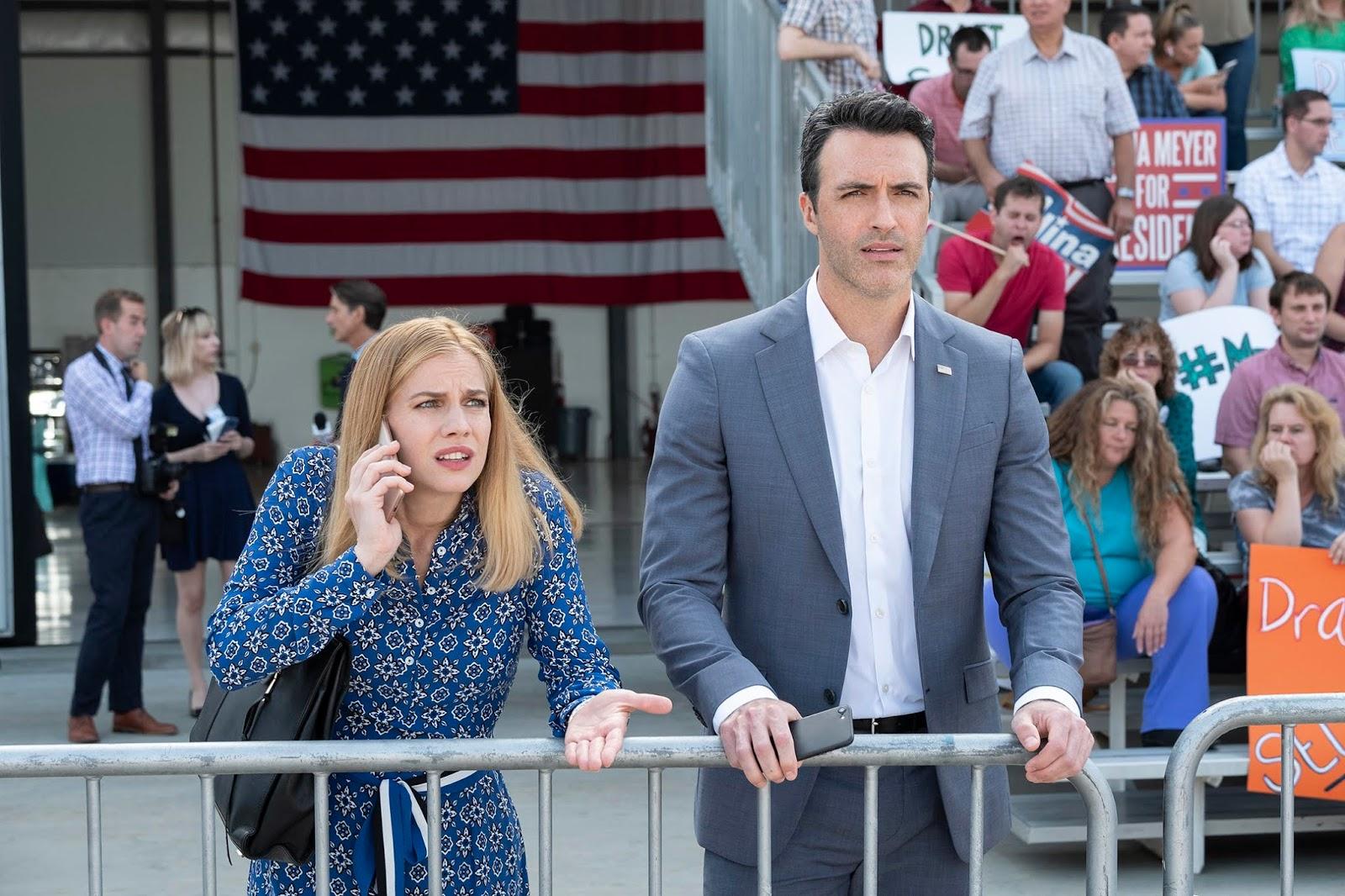 Amy y Dan, en la temporada 7 de Veep