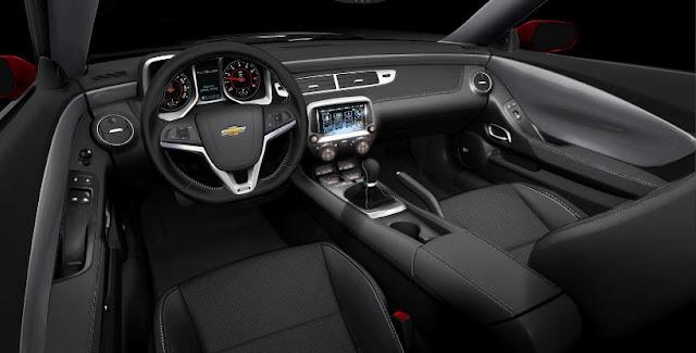 2017 Chevrolet Camaro SS 1LE Manual Interior