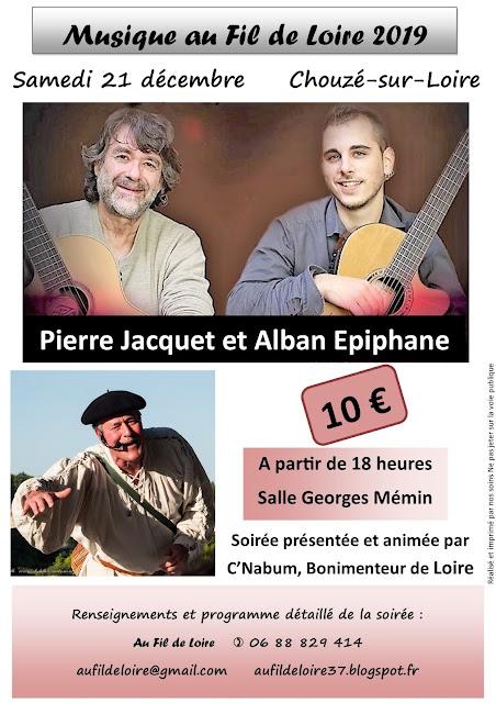 Pierre Jacquet, Alban Epiphane et C'est Nabum au programme