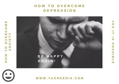 How to overcome depression and anxiety?
