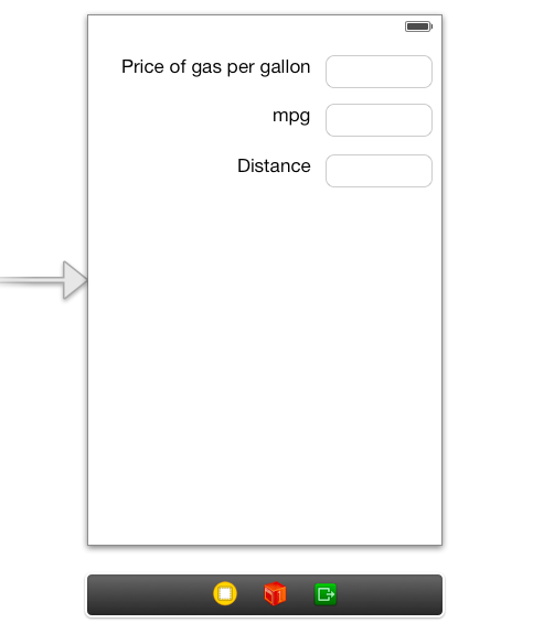 how to make a simple iphone app trip cost calculator ios