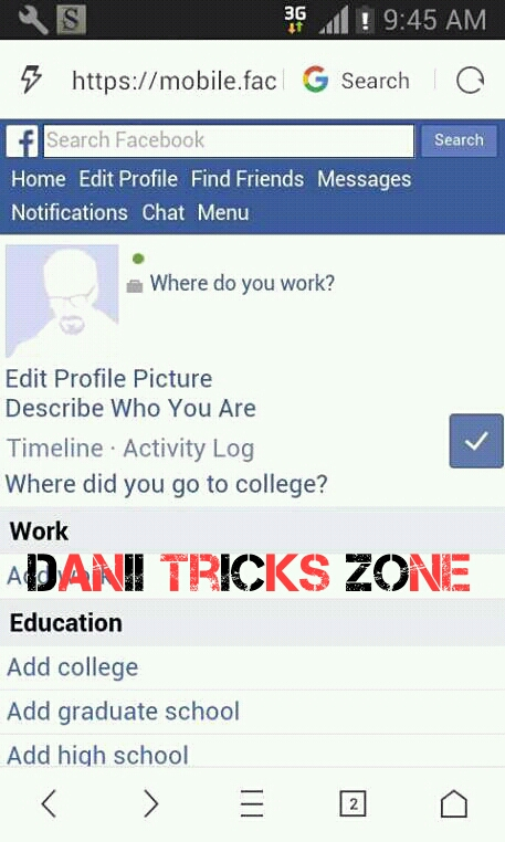 Danii Tricks zone: how to make blank name id without proof 2017