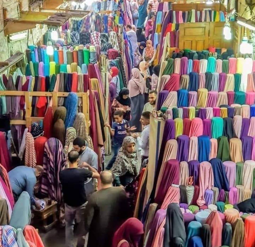أسعار القماش فى الأزهر مصر 2021