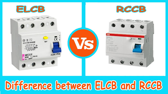 Wiring Diagram Rccb : Elcb vs rccb difference between and