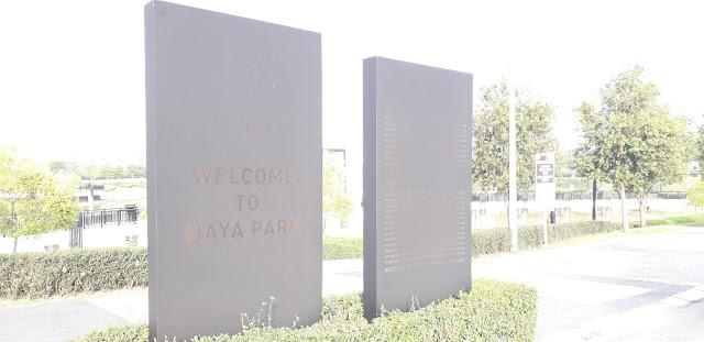 Papan Tanda Maya Park @ Eco Ardence
