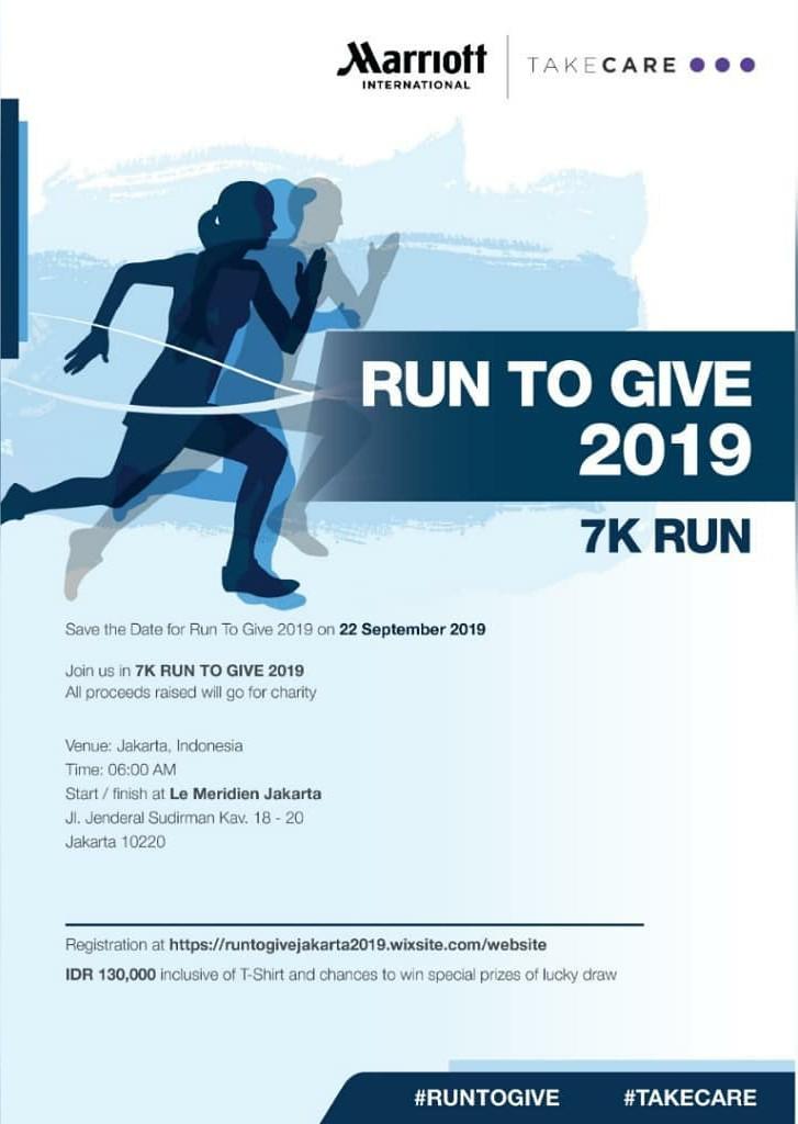 Run To Give - Jakarta • 2019