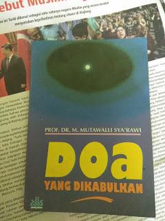 Buku Doa yang Dikabulkan Mutawalli Sya'rawi