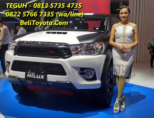 Harga Toyota, Spesifikasi, Ilustrasi Kredit Toyota Hilux Baru di Surabaya, Jatim
