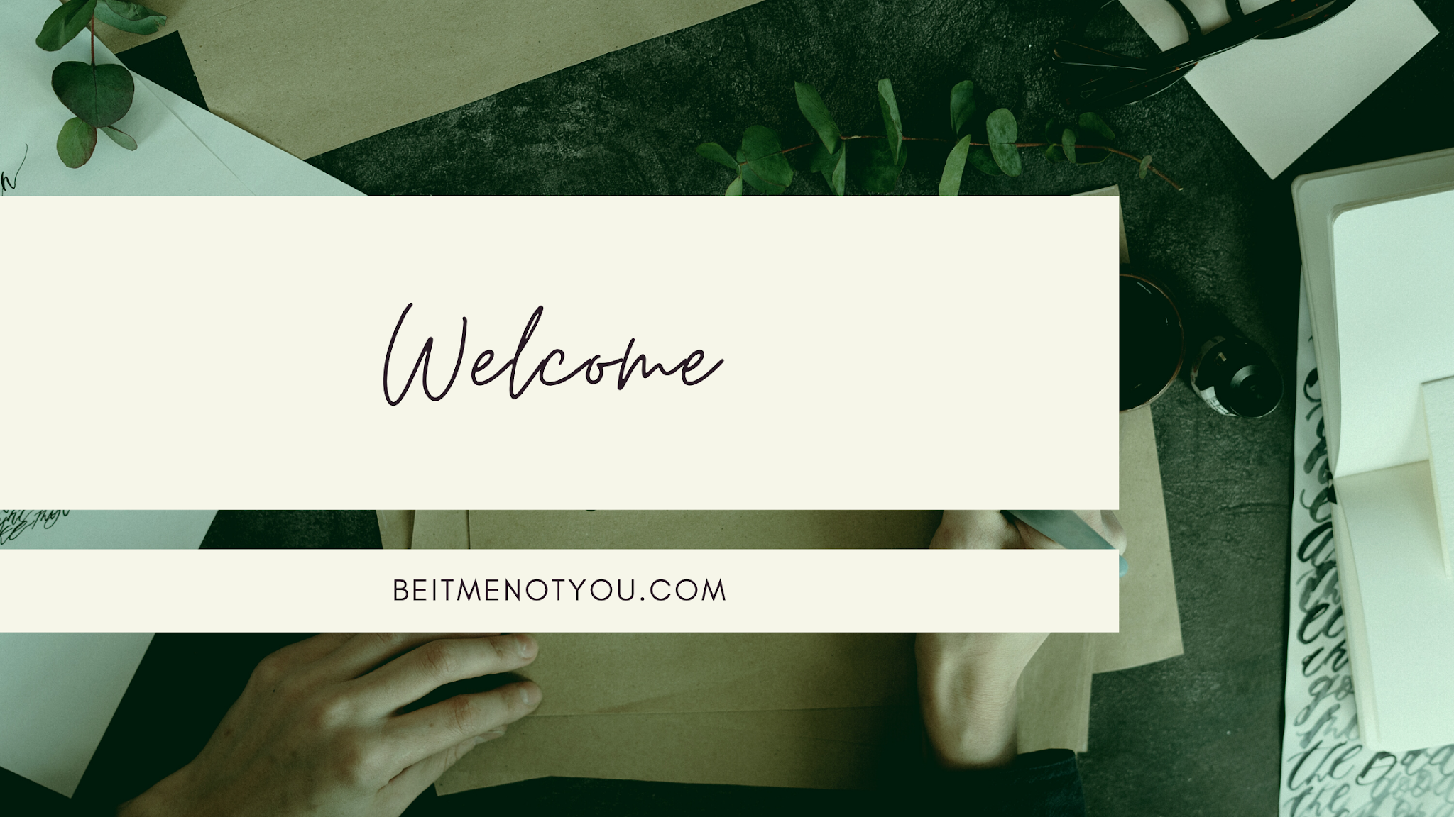 Welcome Blog Banner