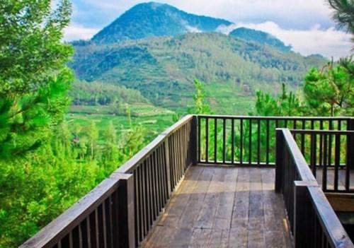 Patuha Resort hotel dekat wisata kawah putih