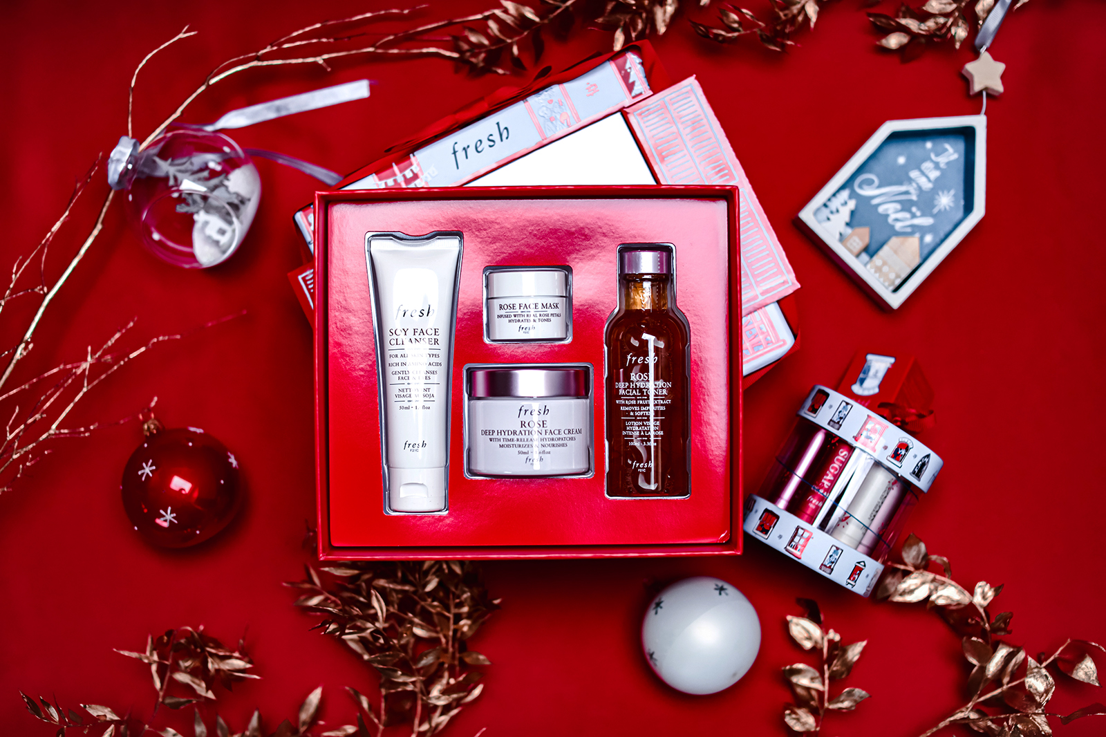 Fresh coffrets Noël 2019 Coffret Rose