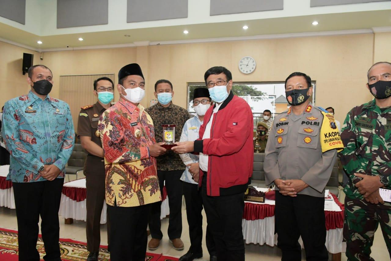 Terima Kunjungan Kerja Djarot Saiful Hidayat, Ini Yang Disampaikan Bupati Sergai