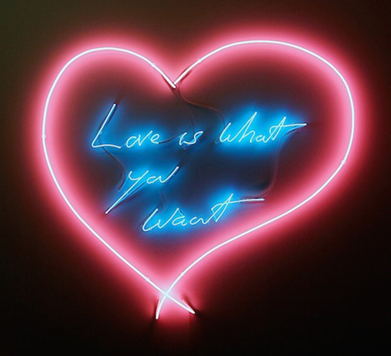Tracey Emin, Love is what you want, 2011