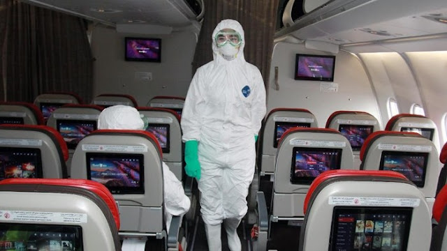 Pesawat Pembawa WNI dari Wuhan China Bertolak ke Indonesia