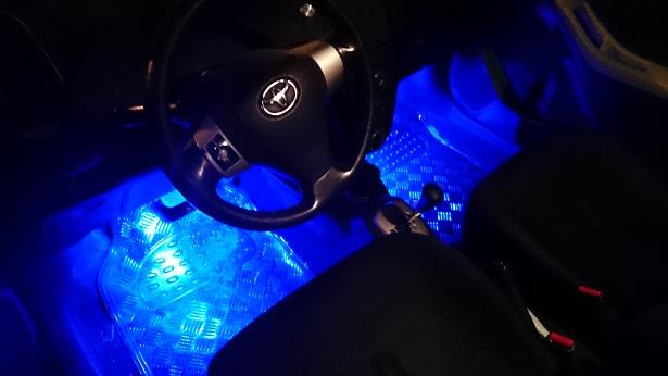 #66 Φωτισμός εσωτερικού αυτοκινήτου με RGB LEDs - Arduino DIY