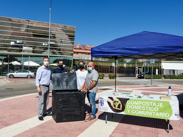 ES NOTICIA. El Ayuntamiento de Torrejón invita a los torrejoneros a convertir sus residuos orgánicos en abono