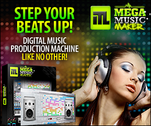 Mega Music Maker Digital Music Production Software