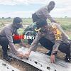 Kapolsek Marbo Dampingi Kapolres Takalar AKBP Budi Wahyono Menanam Bibit Melon Sebanyak 5000 Pohon
