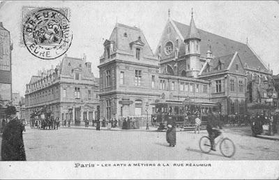 Rue Réaumur Paris