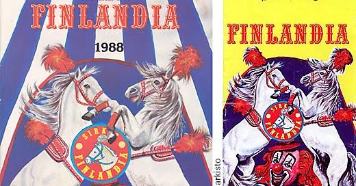 Sirkus Finlandia 2021 Esiintyjät