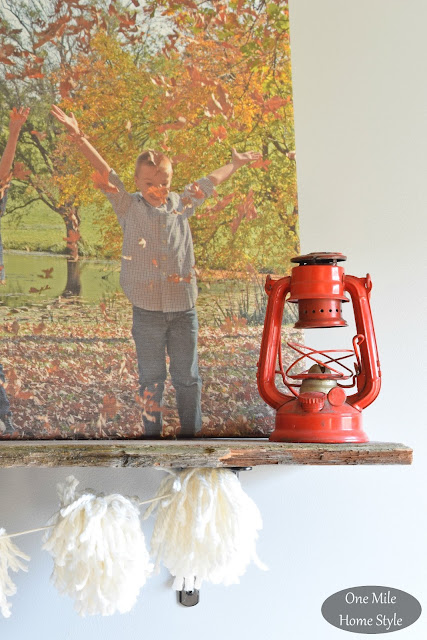 Little Red Lantern | Christmas Home Tour - One Mile Home Style